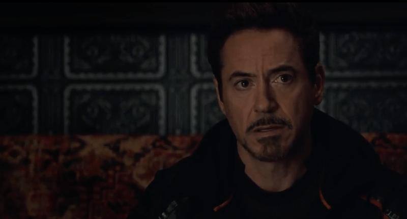 Tony Stark Infinity War trailer