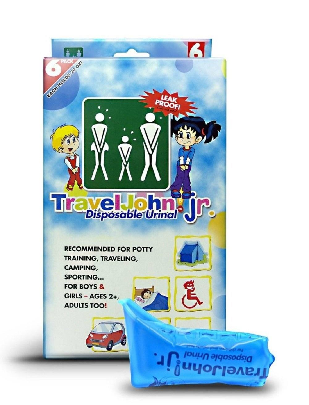 TravelJohn Jr.-Disposable Urinal Bags