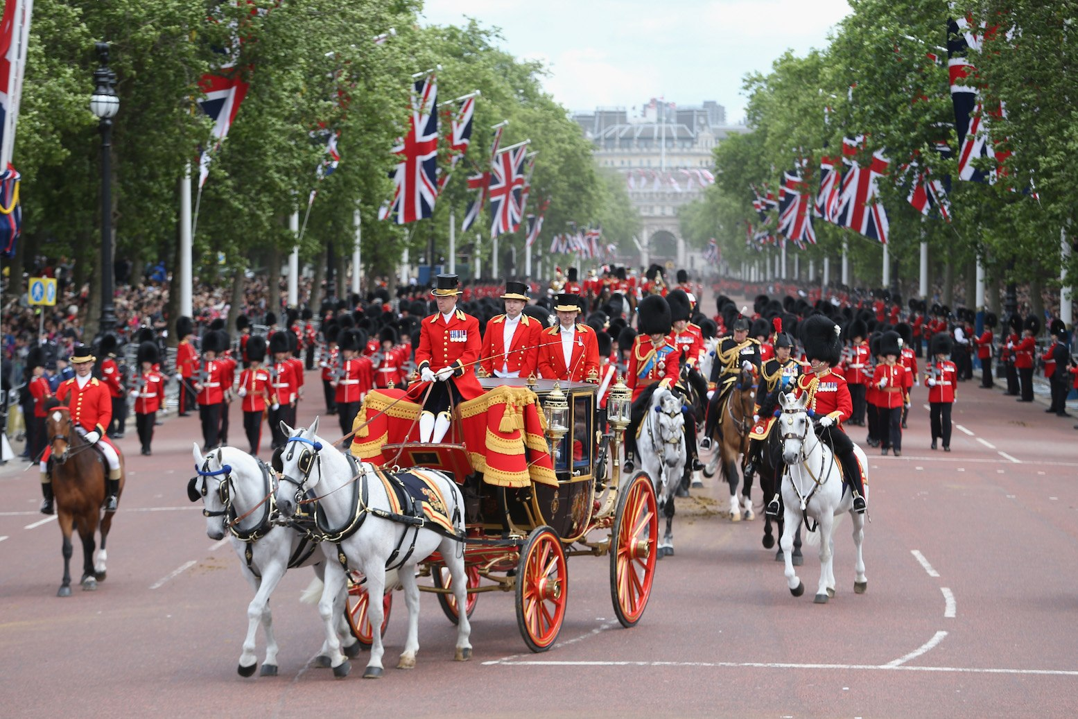 The Queen's Birthday Parade: Trooping the Colour