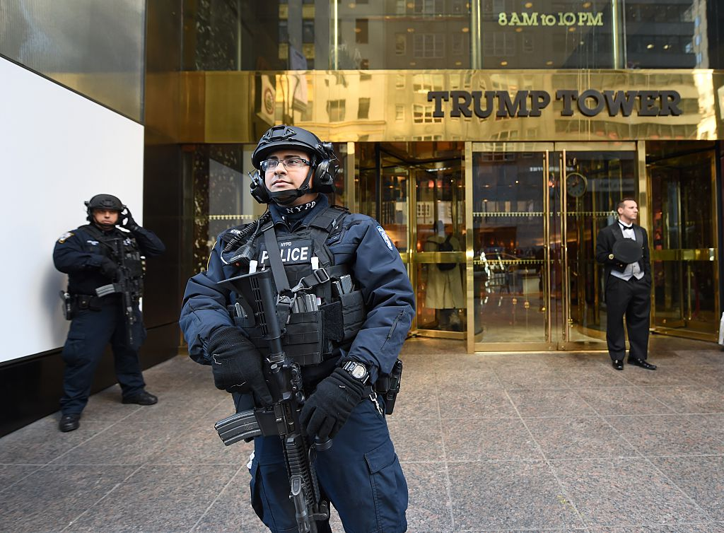 Trump tower security