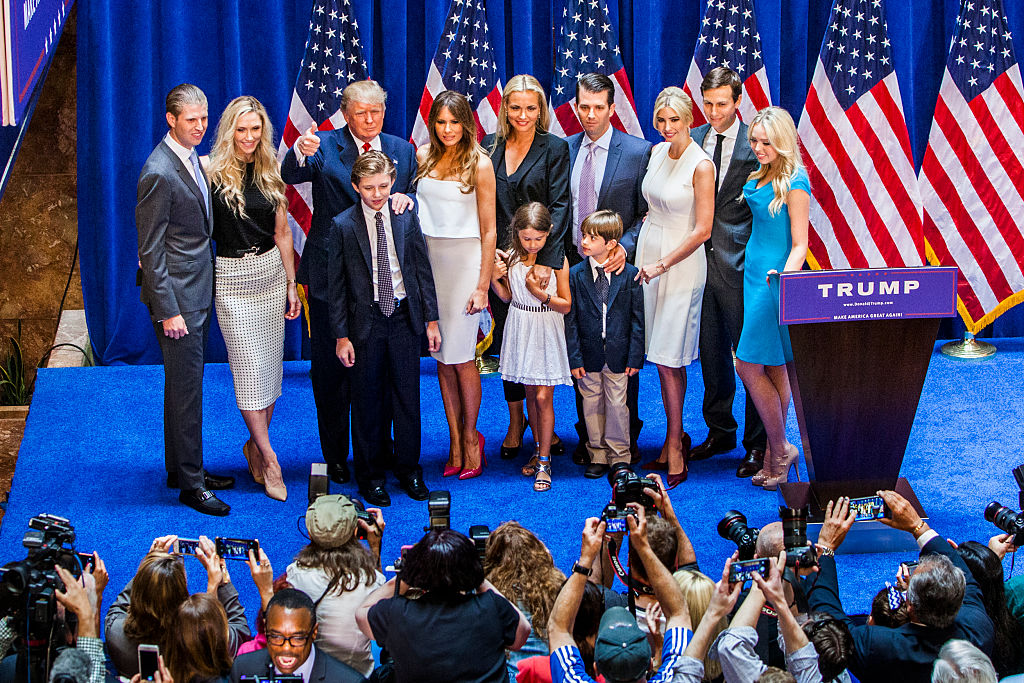 Donald Trump and family