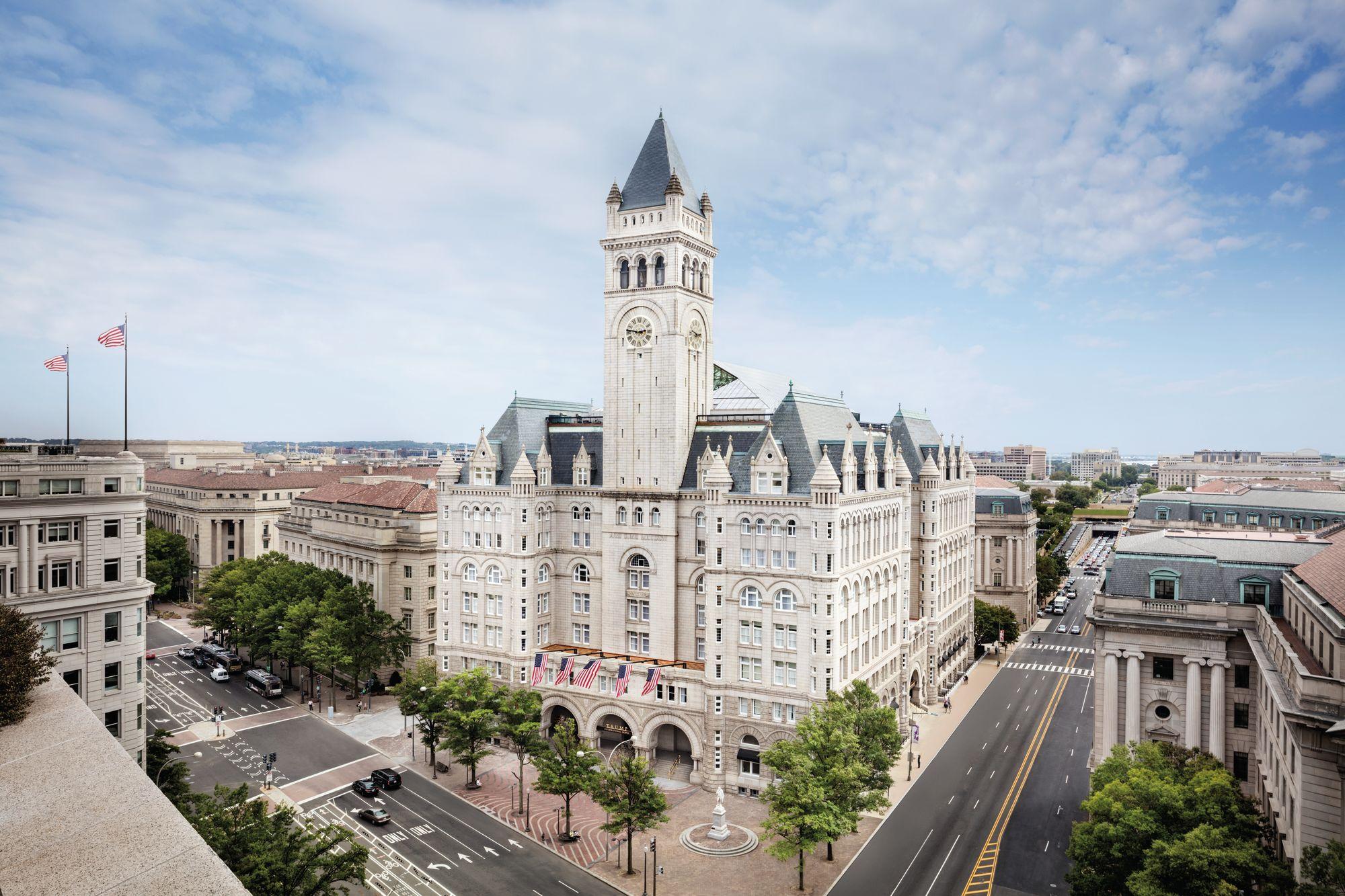 Trump hotel DC exterior