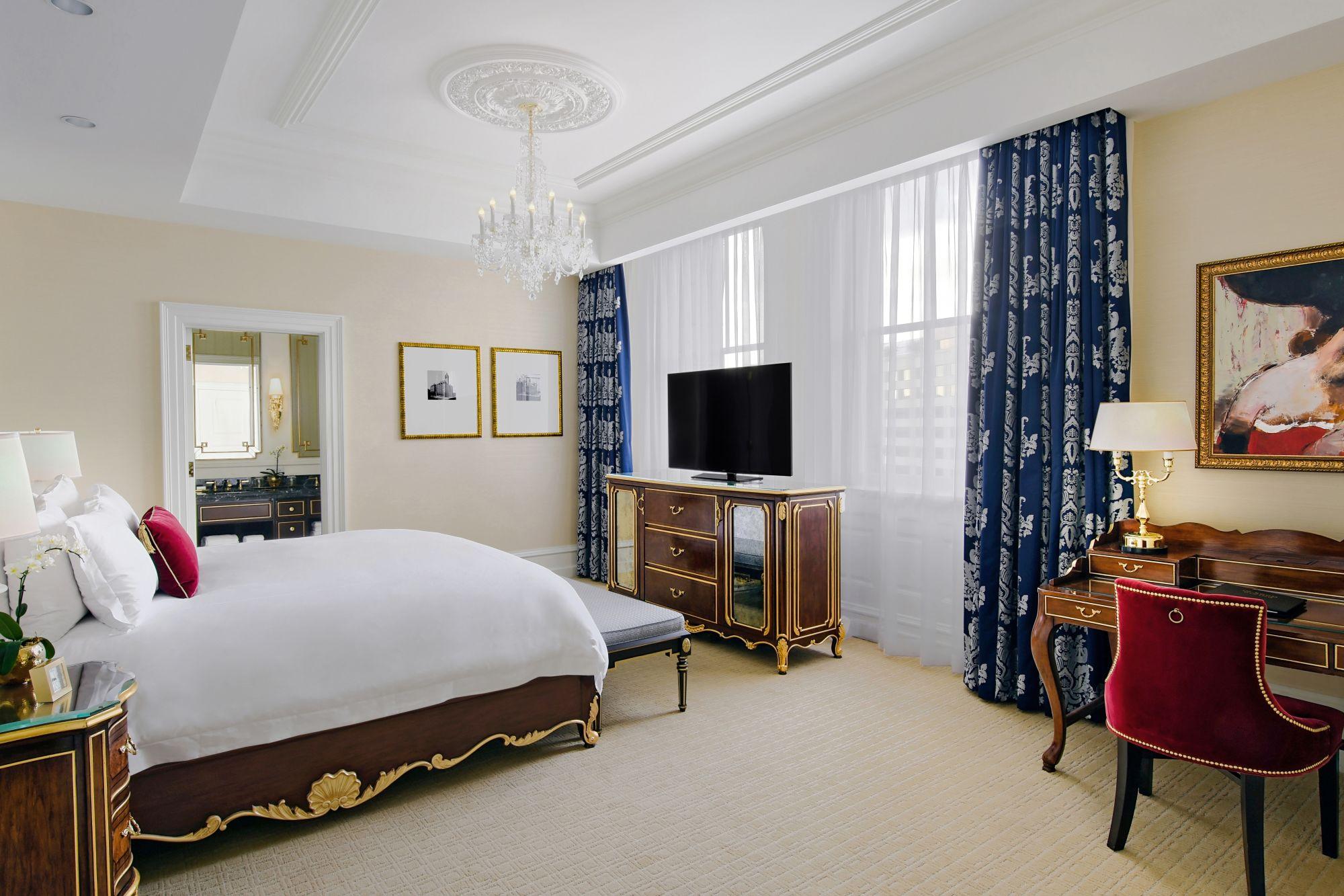Trump hotel DC room