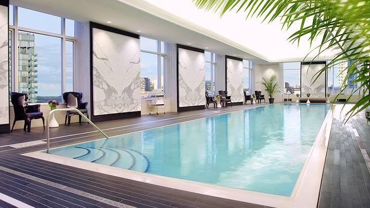 Trump hotel pool