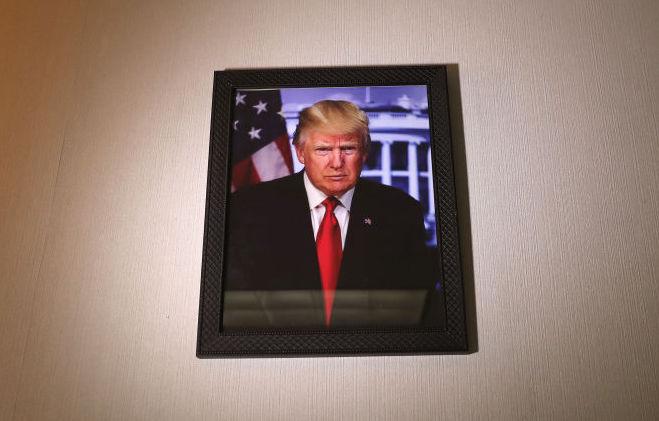 Portrait of Donald Trump