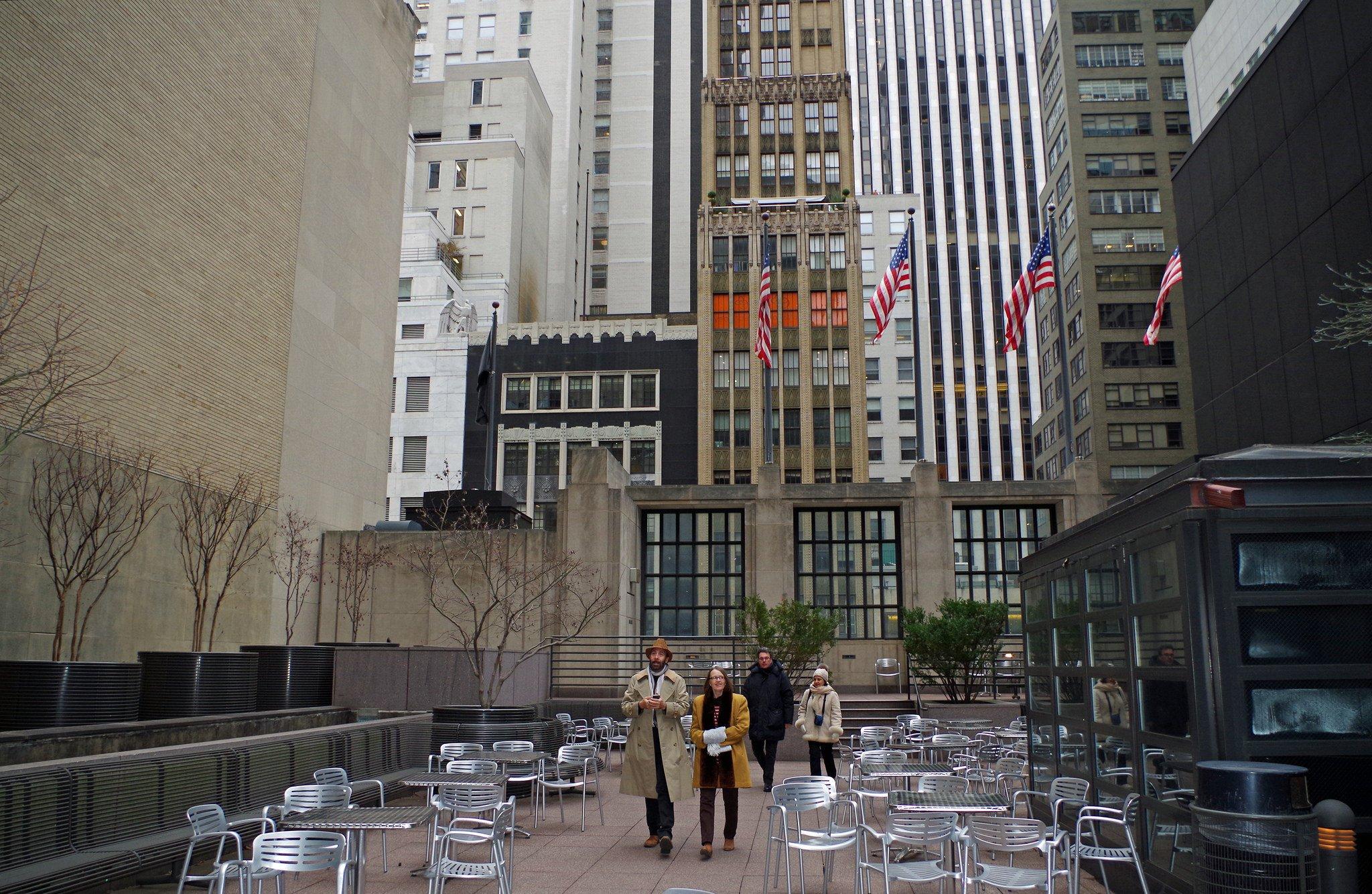 Trump tower garden