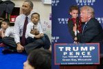 Watch How Barack Obama and Donald Trump Treat Kids: We Reveal 1 Shocking Difference