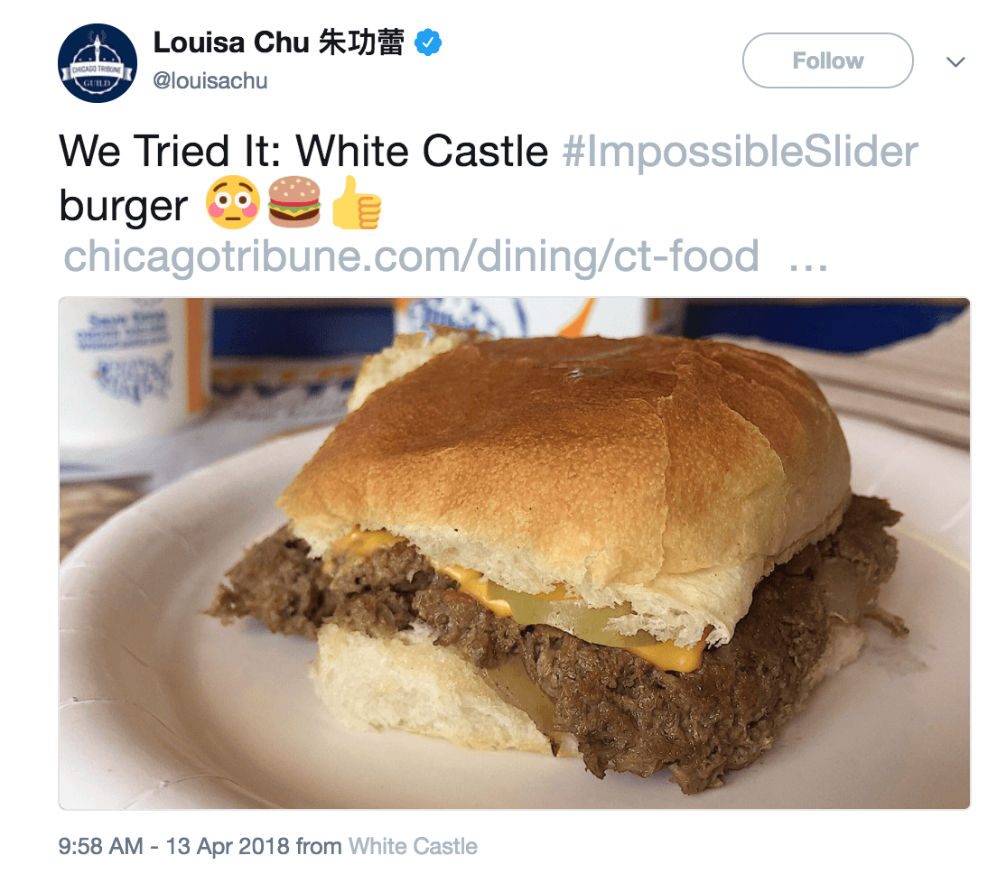 Trying Impossible burger