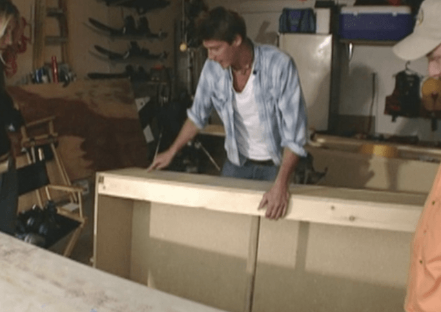 Ty Pennington on 'Trading Spaces'.