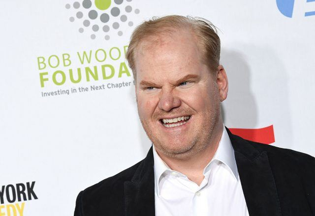 "Comedian Jim Gaffigan attends the 10th Annual ""Stand Up For Heroes"" event presented by the New York Comedy Festival"