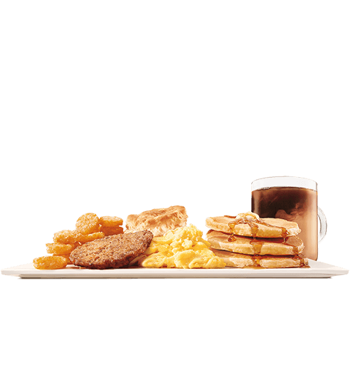 The Ultimate Breakfast Platter on a white background.