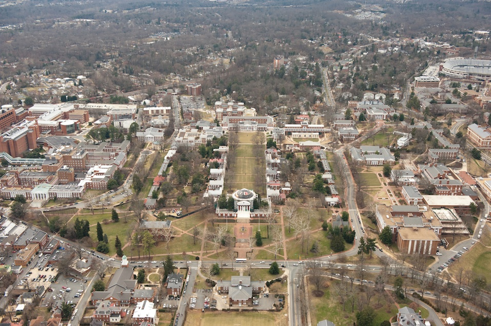 University of Virginia in Charlottesville, Virginia.