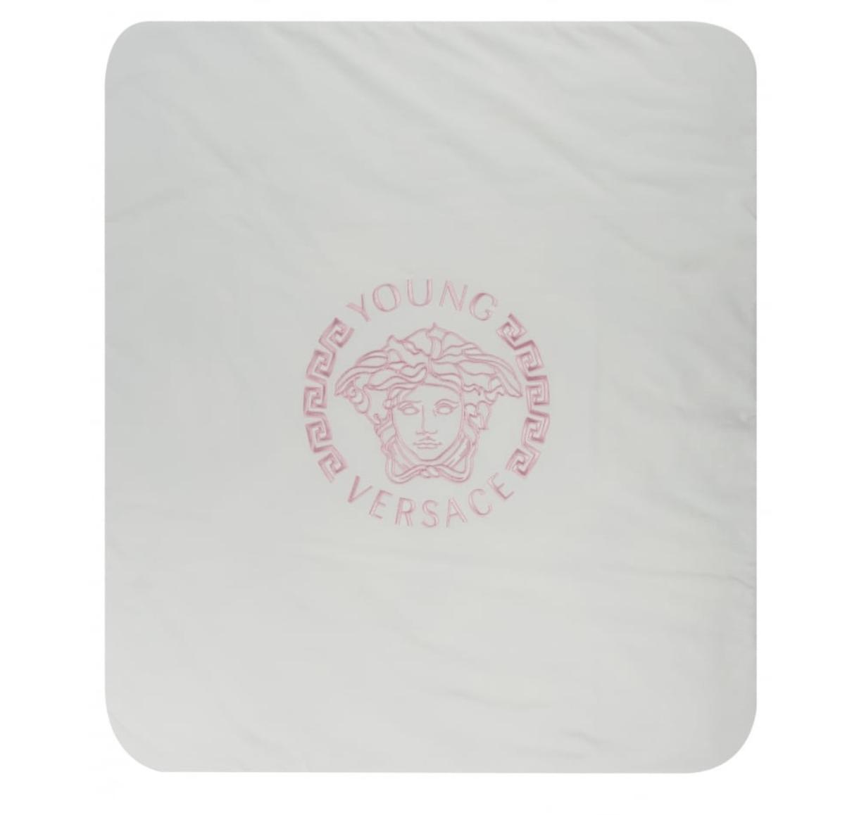 Versace baby blanket