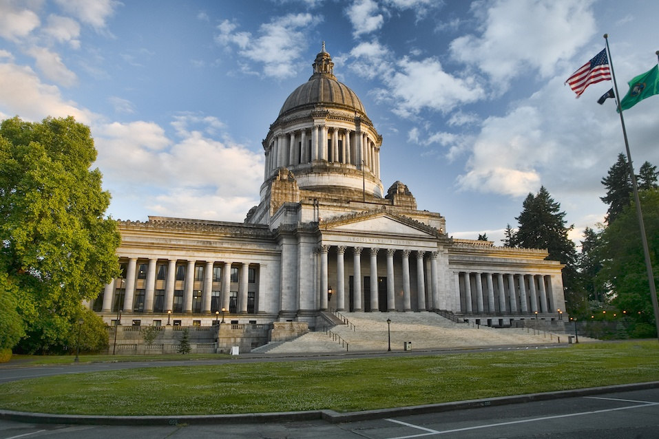 State of Washington capitol building, Olympia.