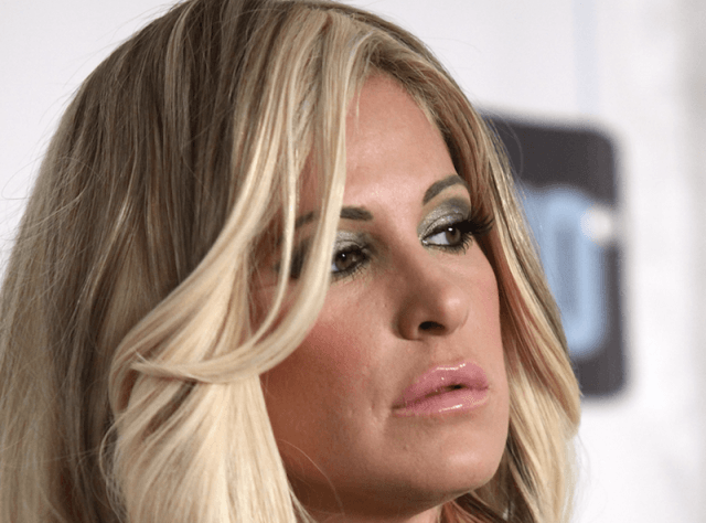 Kim Zolciak-Biermann close up.