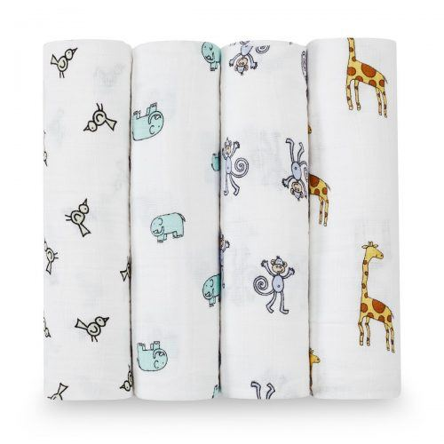aden + anais Classic Swaddle Baby Blanket