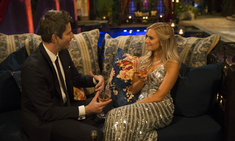 Arie and Lauren on The Bachelor