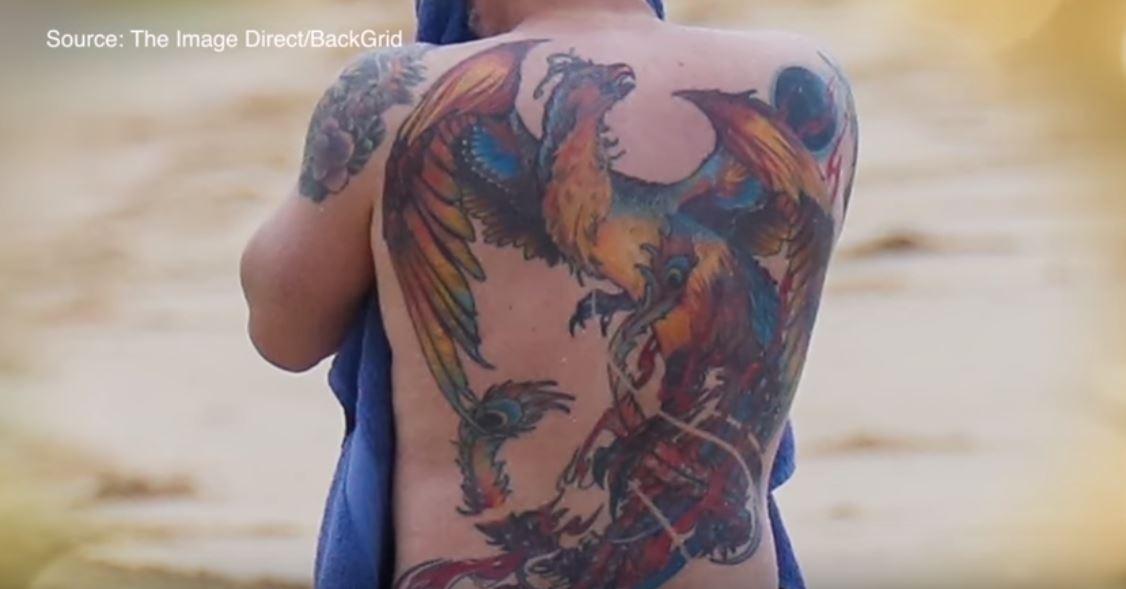 Ben Affleck tattoo