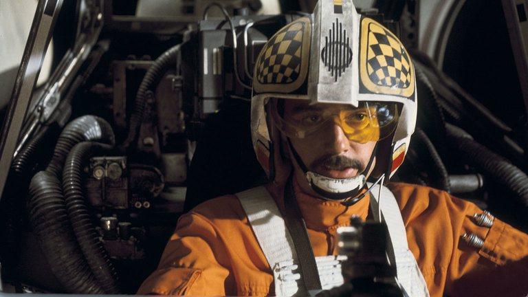 Biggs Darklighter in Star Wars: A New Hope