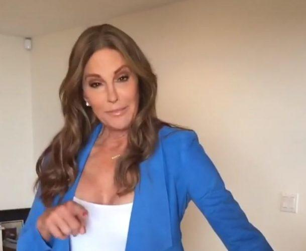 Caitlyn Jenner video for Trans Day of Visibility.