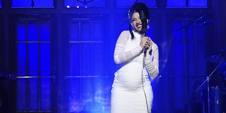 Cardi B on Saturday Night Live