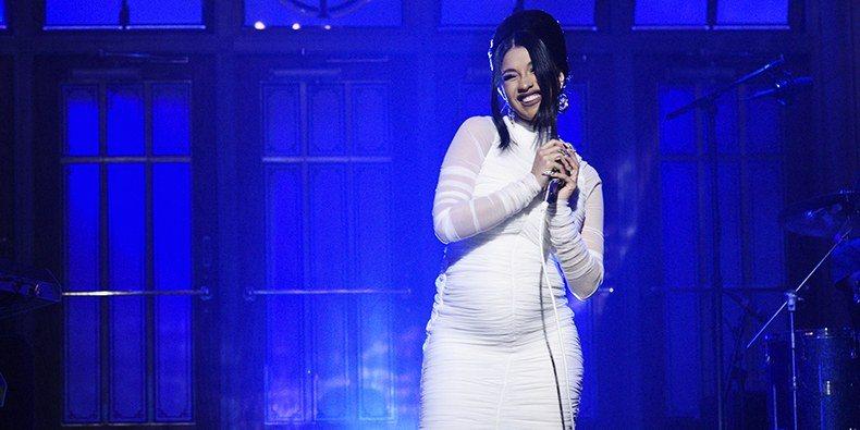 Cardi B on Saturday Night Live