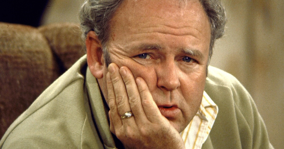 Carroll O' Connor as Archie Bunker on All in the Family