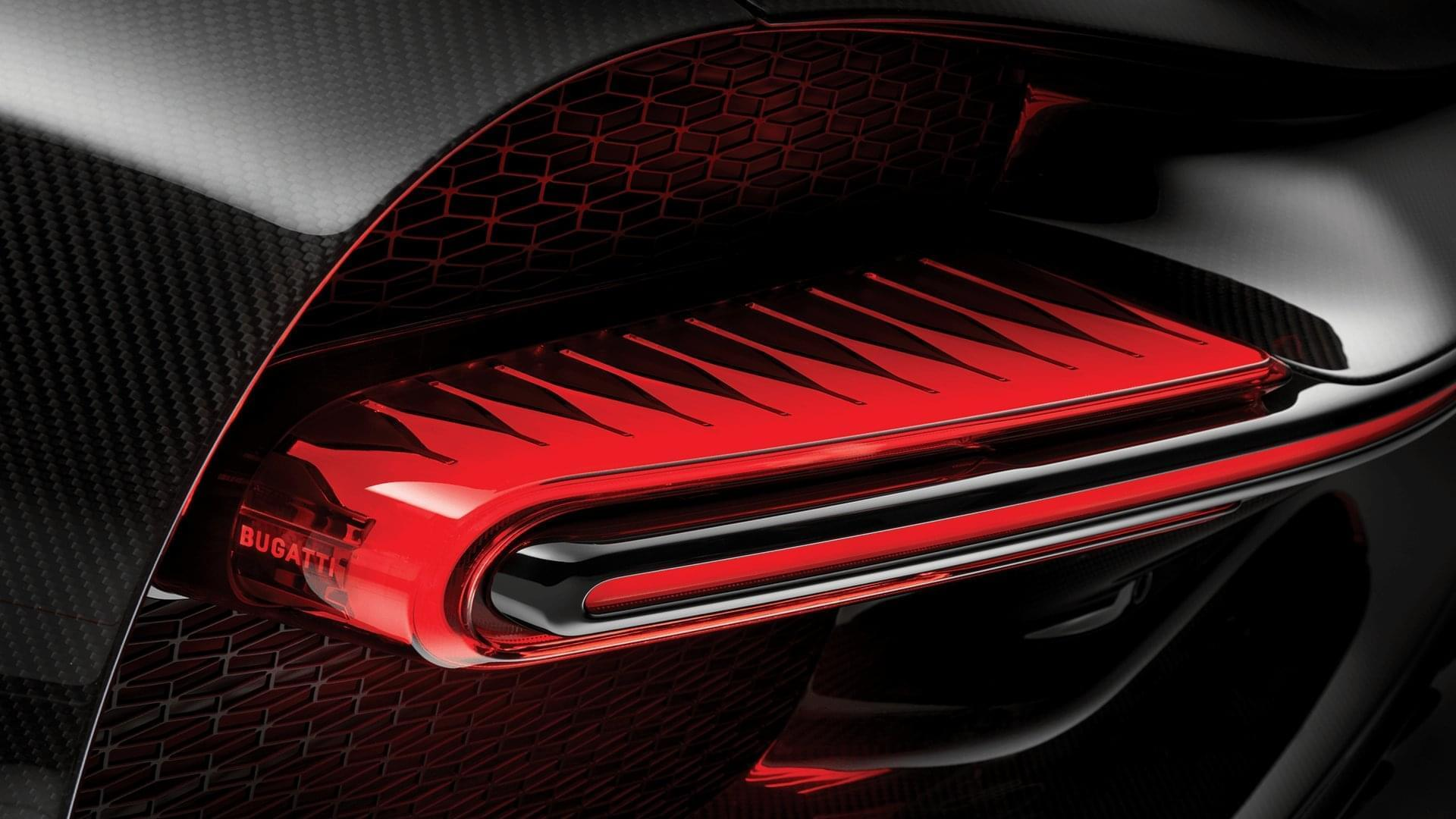 chiron rear light