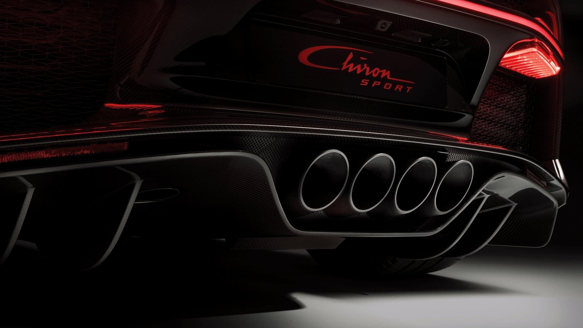 Chiron tailpipes