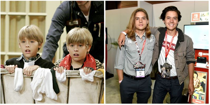 Dylan and Cole Sprouse composite