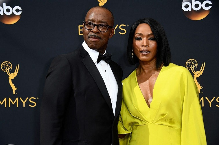Actors Courtney B. Vance (L) and Angela Bassett attend the 68th Annual Primetime Emmy Awards at Microsoft Theater on September 18, 2016 in Los Angeles, California.