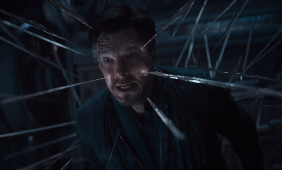 Doctor Strange in Avengers: Infinity War
