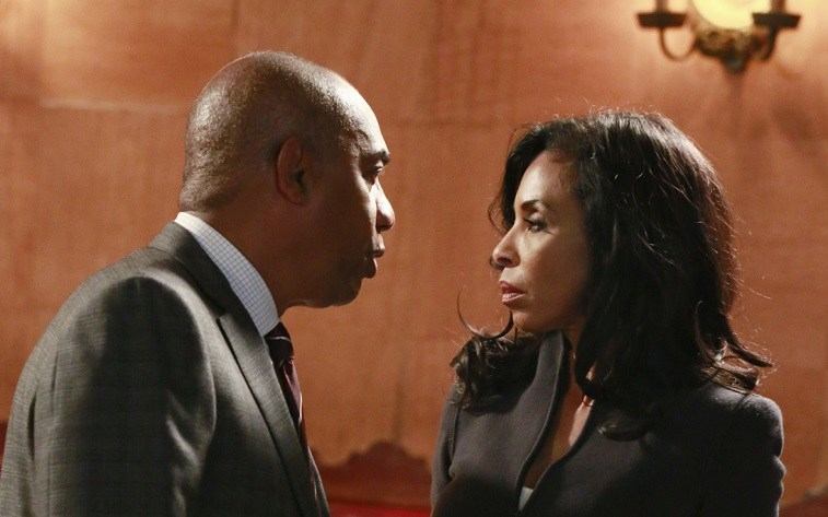 Eli and Maya on Scandal