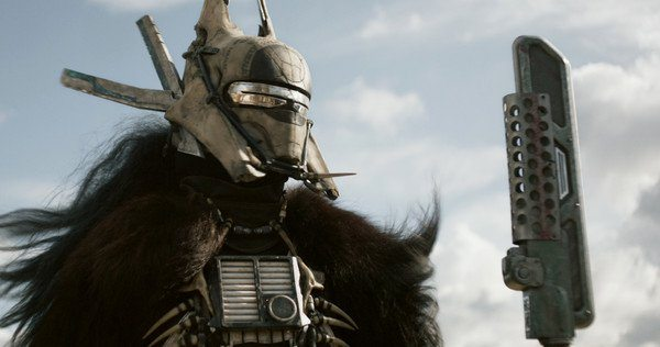 Enfys Nest in Solo: A Star Wars Story