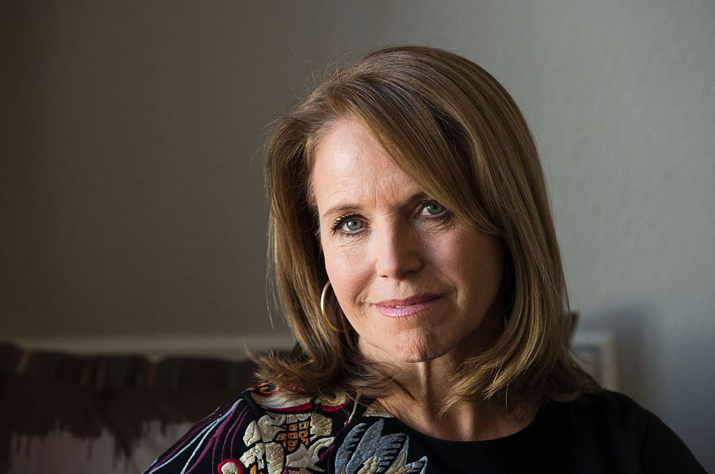 Journalist Katie Couric poses during an interview session at Sundance Film Festival in Park City