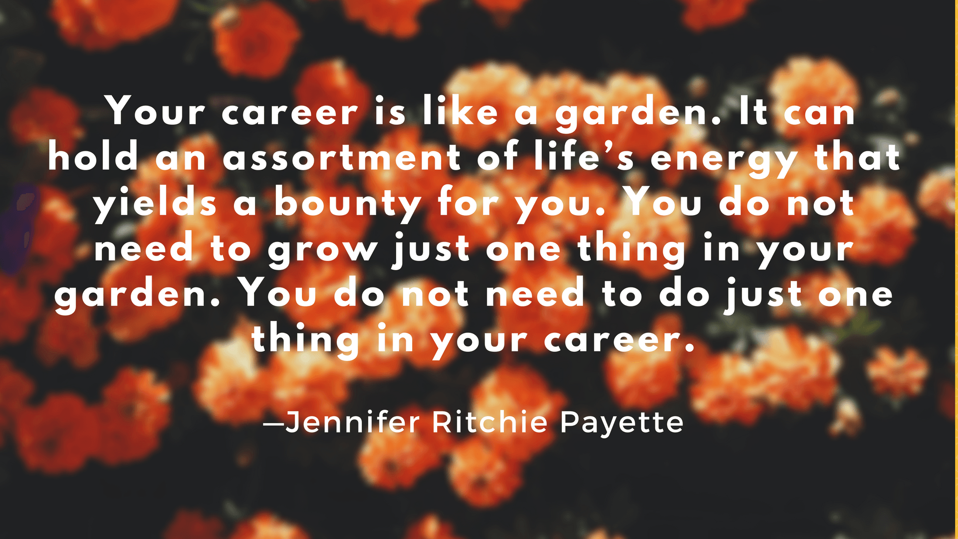 jennifer Ritchie Payette quote