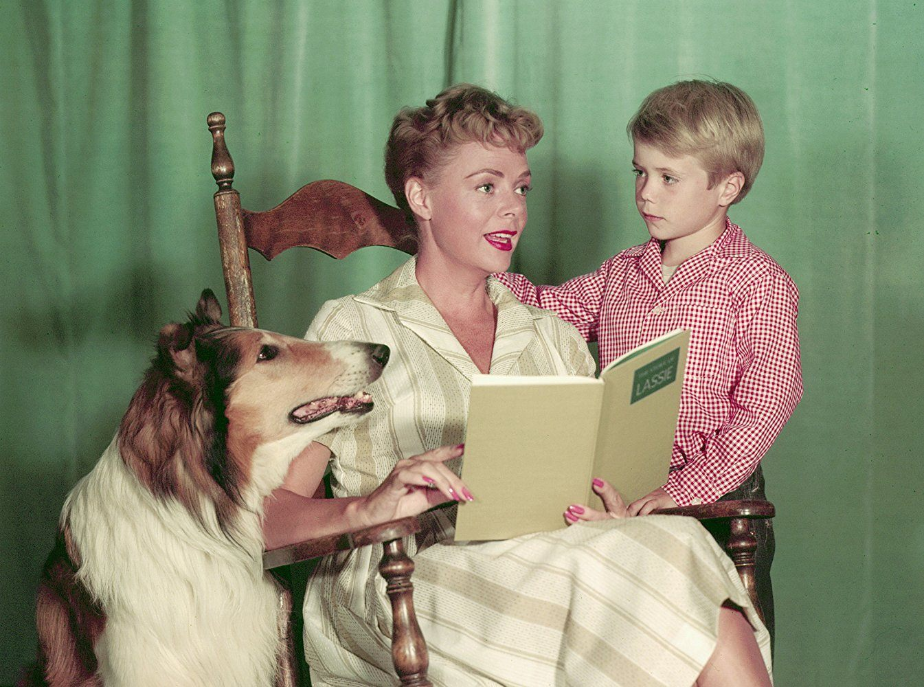 June Lockhart on Lassie