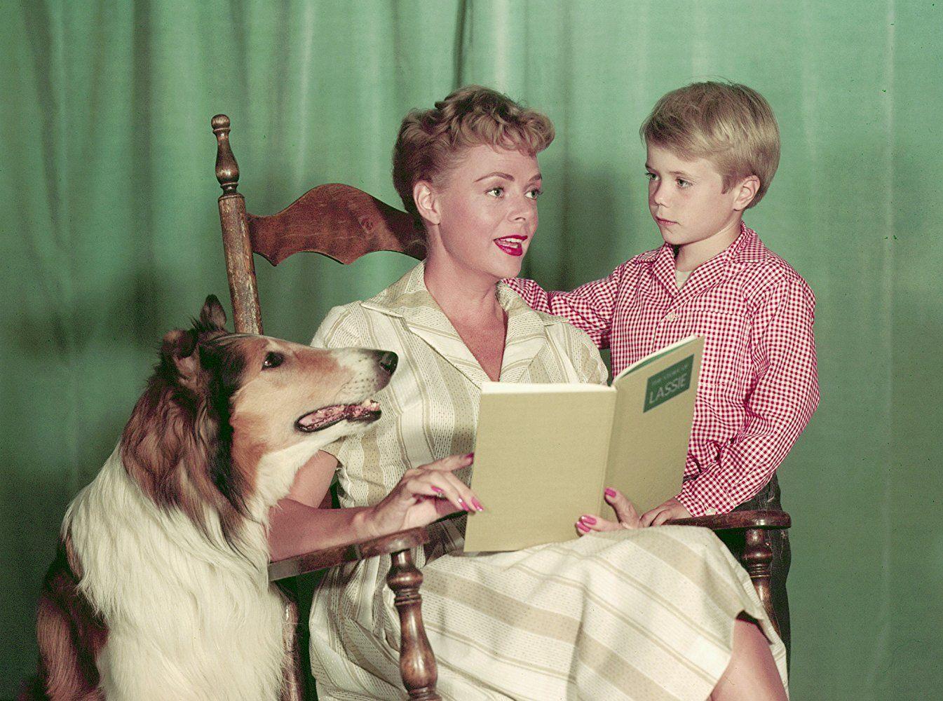 June Lockhart on Lassie