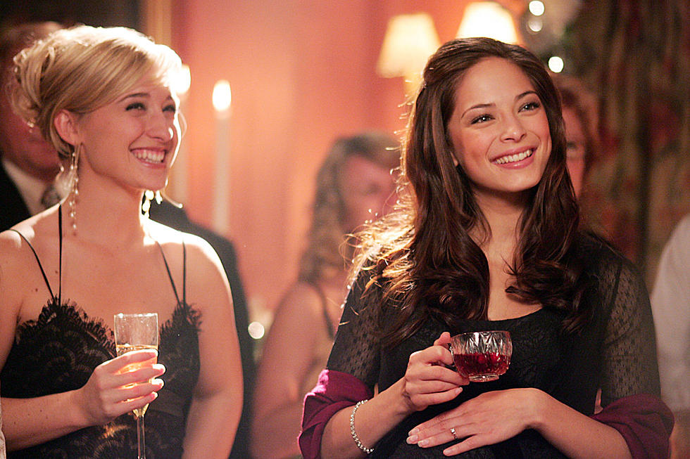 Allison Mack and Kristin Kreuk