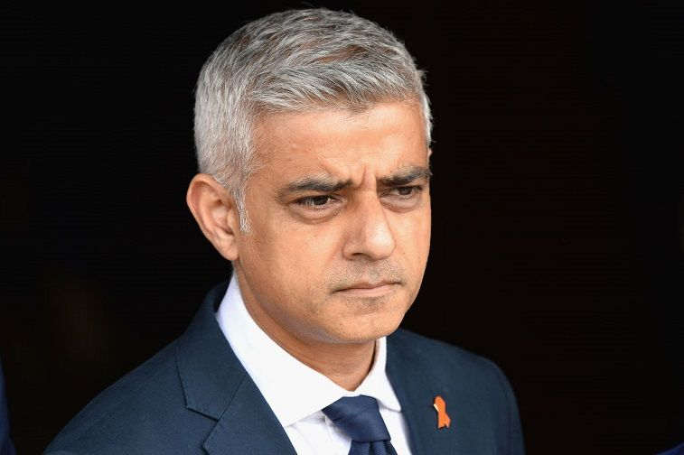 Mayor of London Sadiq Khan attends the 25th Anniversary Memorial Service to celebrate the life and legacy of Stephen Lawrence at St Martin-in-the-Fields on April 23, 2018 in London, England.