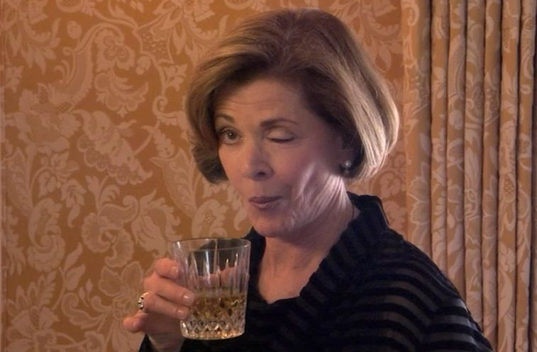Jessica Walter as Lucille Bluth on Arrested Development