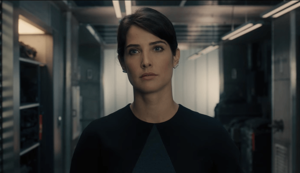 Maria Hill in Avengers: Age of Ultron