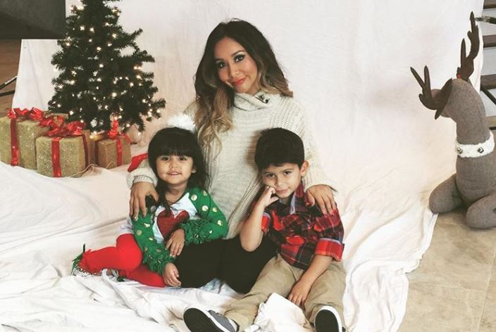 Nicole 'Snooki' Polizzi and her kids
