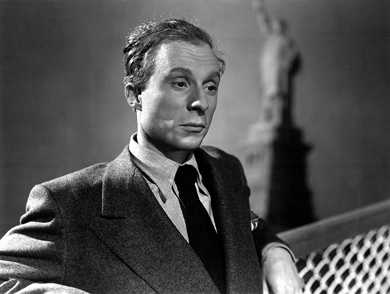 Norman Lloyd in Saboteur