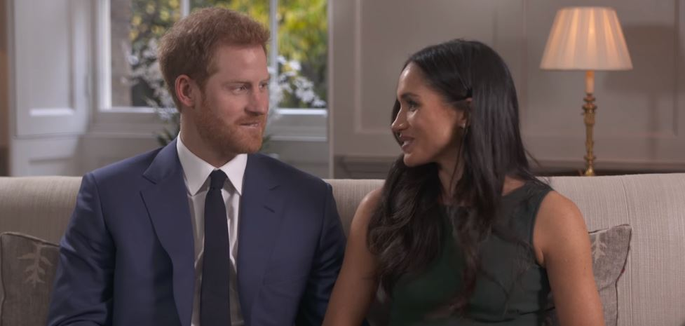 Prince Harry and Meghan Markle's BBC engagement interview