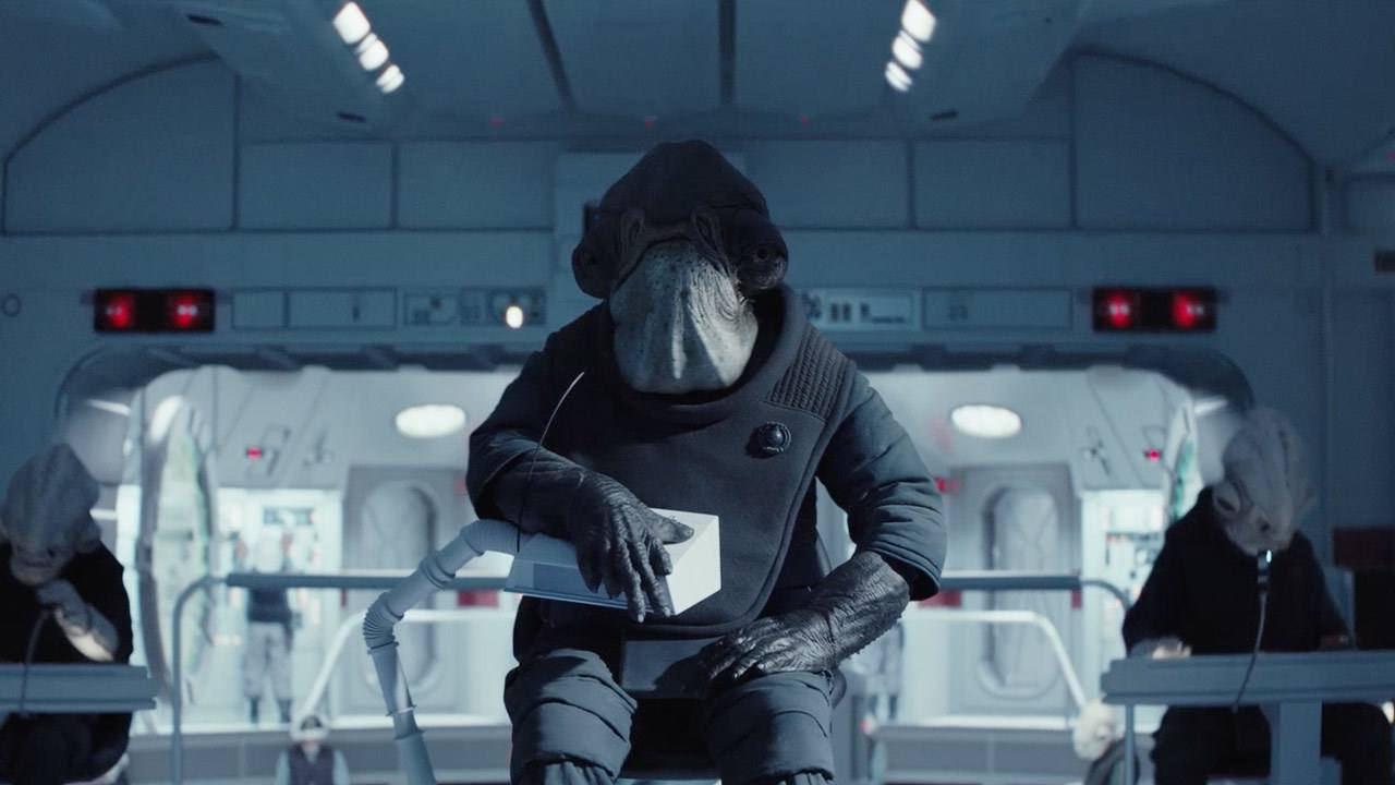 Admiral Raddus in Rogue One: A Star Wars Story