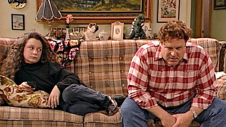Darlene and Dan on Roseanne