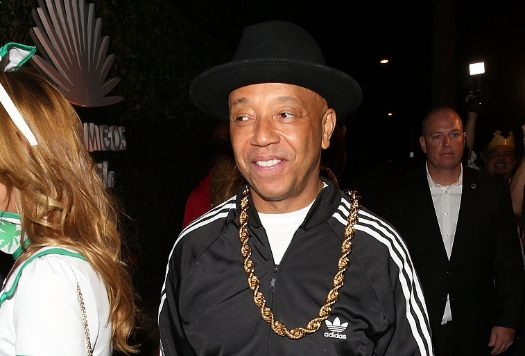 Russell Simmons arrives at the Casamigos Tequila Halloween Party on October 30, 2015 in Los Angeles, California.