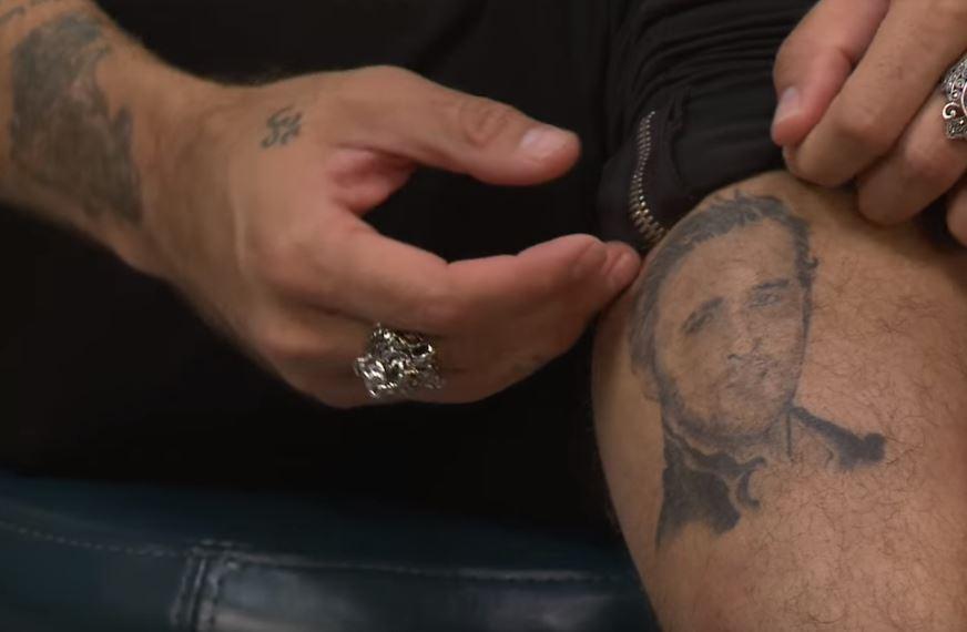 Ryan Cabrera tattoo