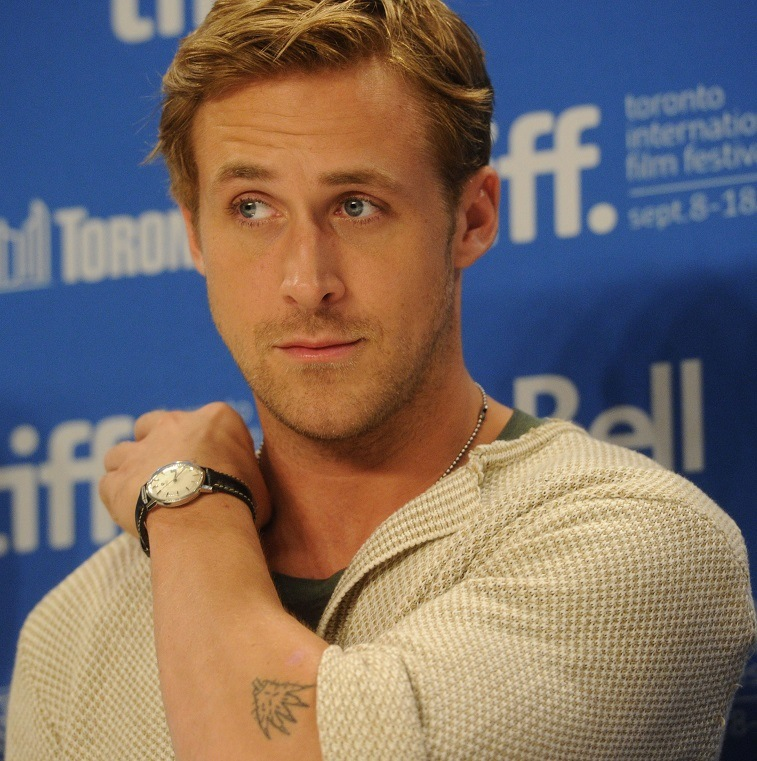 """Ryan Gosling on stage prior to """"The Ides Of March"""" Press Conference during 2011 Toronto International Film Festival on September 9, 2011 in Toronto, Canada."""